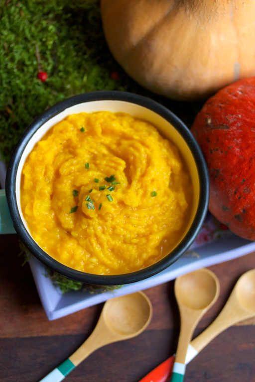 purée butternut 100 % végétale