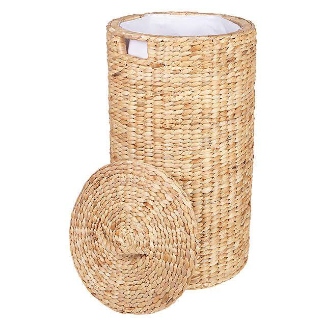 BuyJohn Lewis Water Hyacinth Round Laundry Basket Online at johnlewis.com
