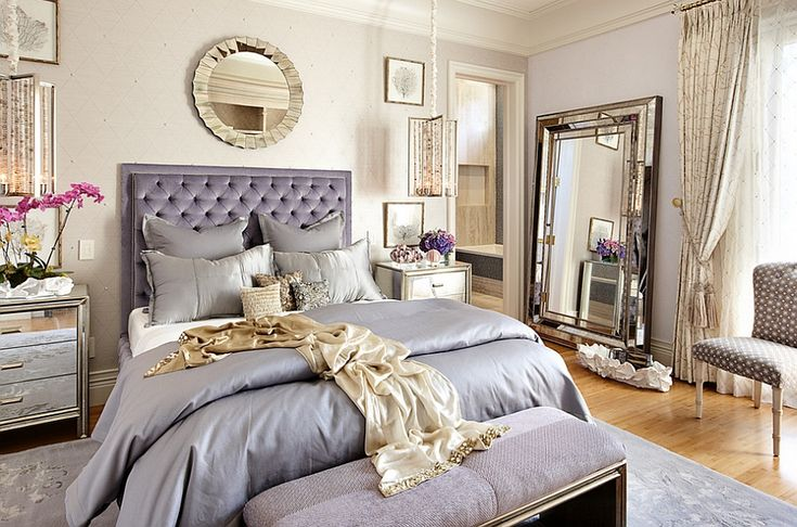 Eclectic bedroom that oozes luxury ---  How to Decorate an Exquisite Eclectic Bedroom
