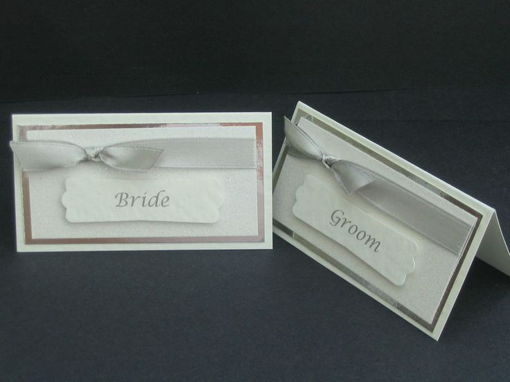 WEDDING NAME PLACE CARDS, PERSONALISED AND ANY COLOURS AVAILABLE