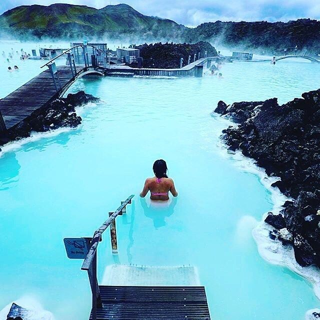 Blue Lagoon Hot Springs - Iceland
