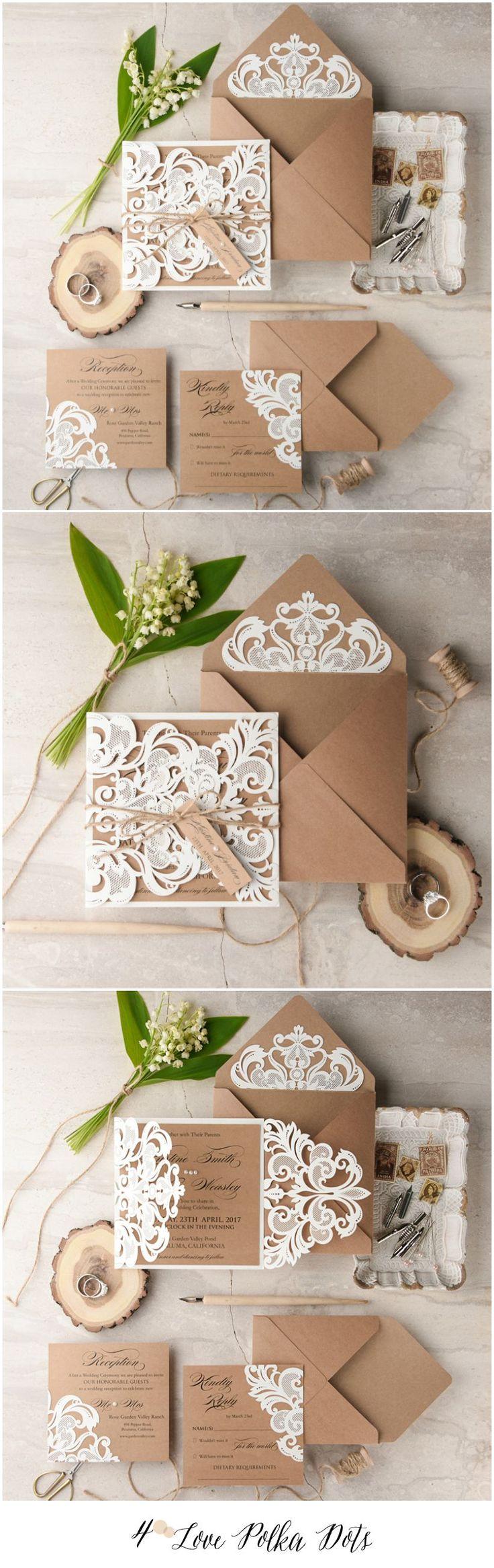 Best 25+ Romantic wedding invitations ideas on Pinterest | Wedding ...