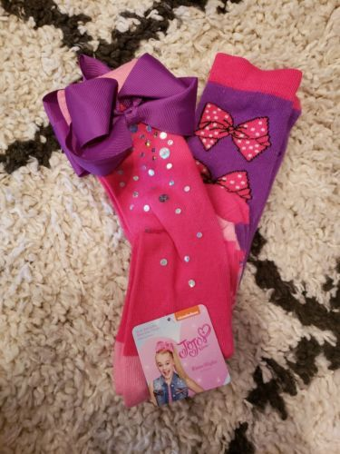 0dc91307a Socks and Tights 153797  Casual And Dress Socks Jojo Siwa 2 Pack Knee High