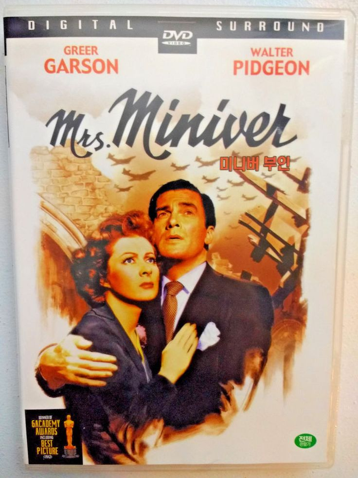 Mrs. Miniver with Greer Garson & Walter Pidgeon / English with Korean Subtitles