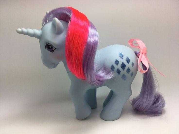 Vintage MLP G-1 Hasbro My Little Pony ~ SPARKLER ~ Unicorn 1984 ~ PRETTY!