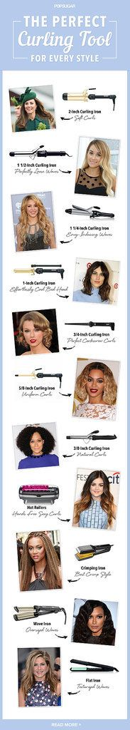 Find Your Perfect Curling Iron, No Matter What Style You Want