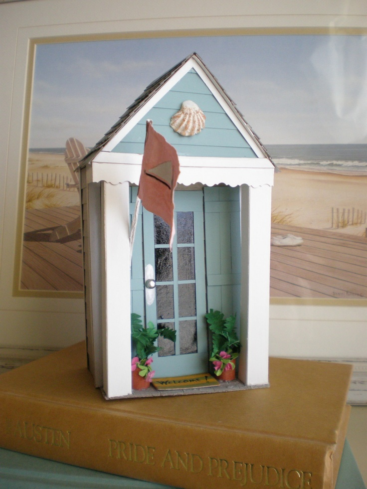 1000 Images About Miniatures Beach House On Pinterest