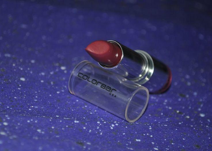 Review: Colorbar Velvet Matte Sultry Pink Lipstick