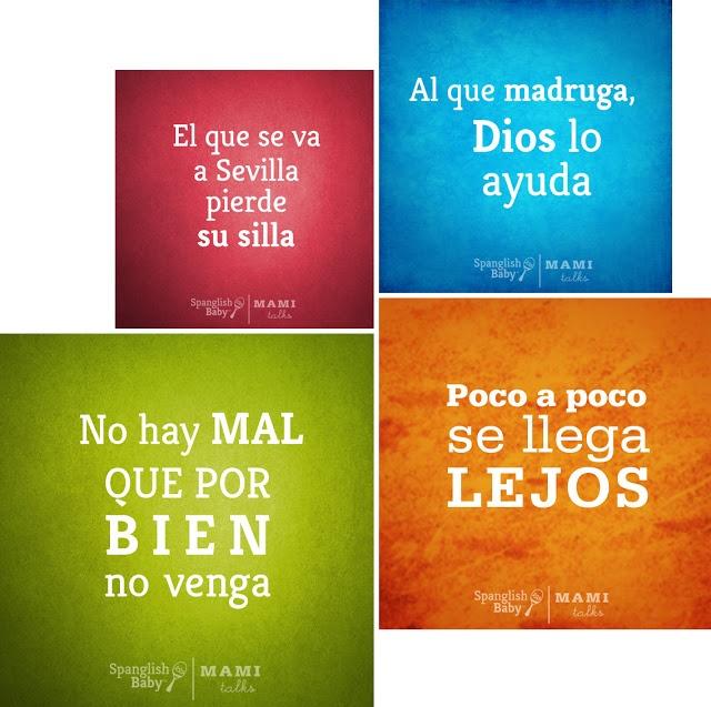 Dichos españoles.