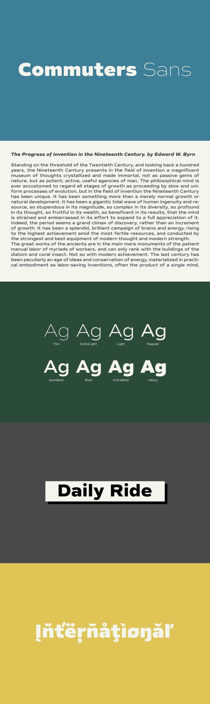 Commuters Sans by Flat-it