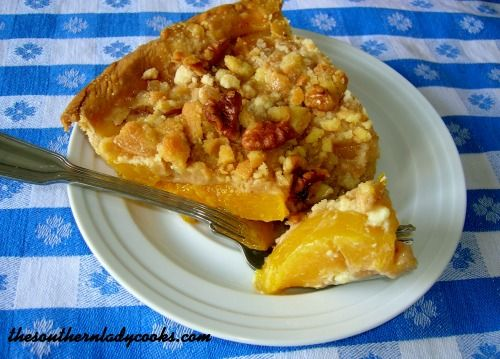 This peach pie is so good.  My family loves it and it is so easy to make.  I make this pie with canned peaches but I am sure you could use fresh or frozen, too. 1 (9 inch) pie shell (I used a Pills...