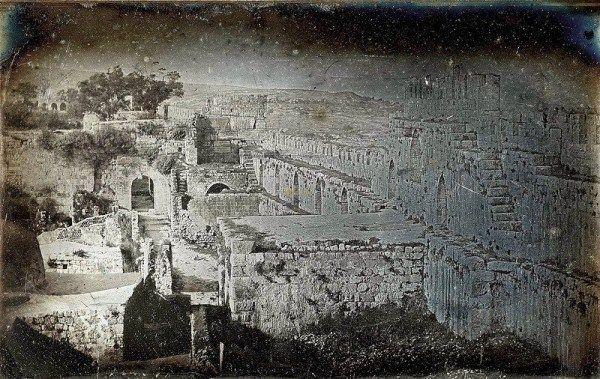 Joseph Prangey - Jerusalem, Haram al-Sharif (Temple Mount), 1844