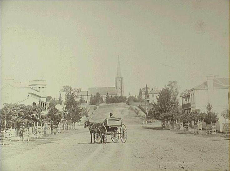 John Street Camden, c.1890. (Copyright: Camden Historical Society)