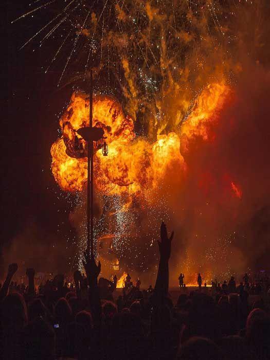 """Three Rivers""  Burning Man Festival 2012 #Nevada"