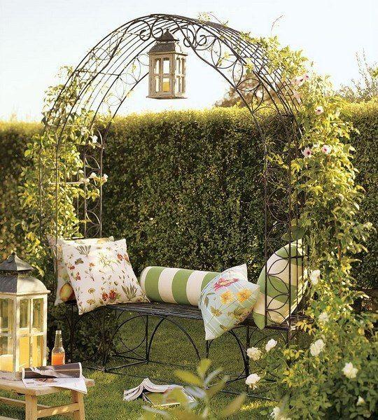 Садовые арки с зеленью. | Дачники