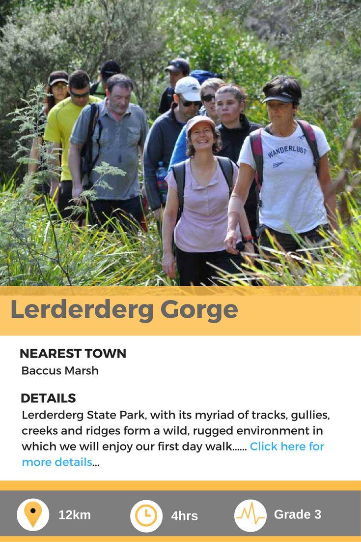 Lerderderg Gorge, a rugged bush walk in the heart of Victoria, Au.
