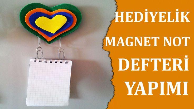 Hediyelik Magnet Not Defteri Yapımı http://www.canimanne.com/hediyelik-magnet-not-defteri-yapimi.html
