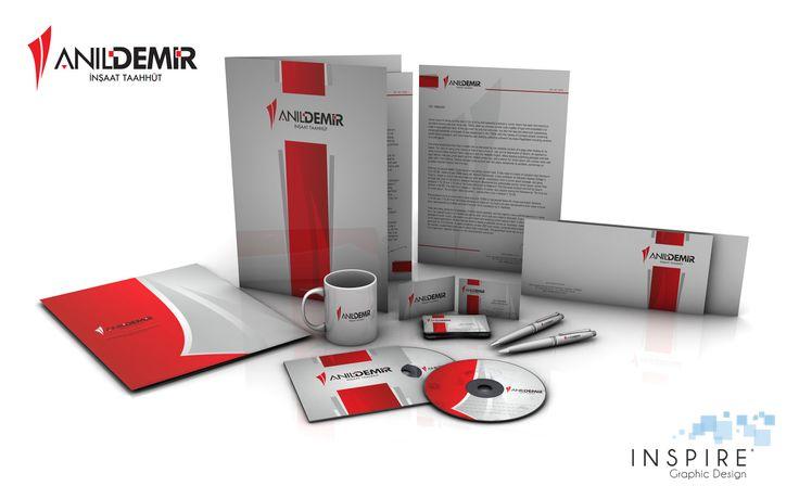 Creación de imagen corporativa para empresa AnielDemir