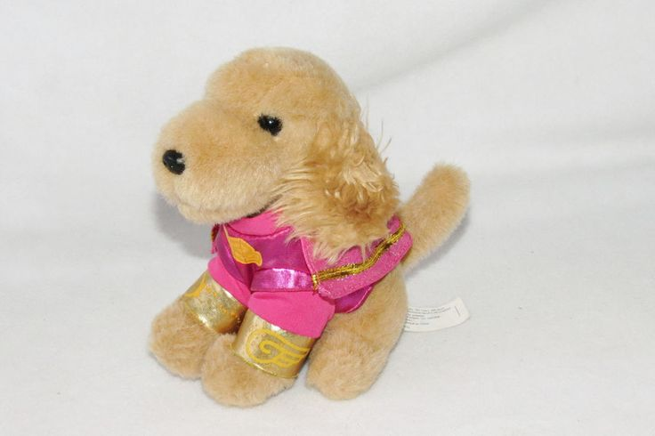 "Air Bud Puppy Super Buddies Rosebud Pink Suit Plush Toy Disney Movie Rewards 7"" #Disney"