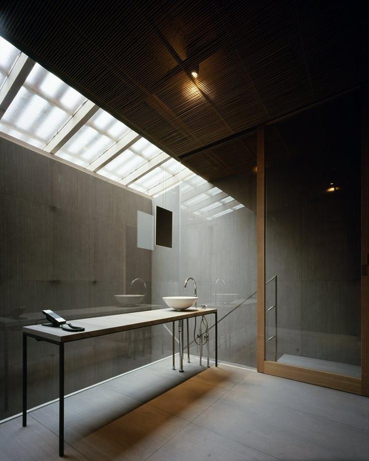 Ginzan Onsen Fujiya, Yamagata, 2008 by kengo kuma #bathroom #japan #architecture #designOnsen Fujiya, Kengo, Modern Bathroom Design, Decor Bathroom, Fujiya Hotels, Bathroom Interiors Design, Full Pictures, Ginzan Onsen, Design Bathroom