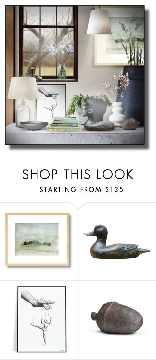 """Sin título #543"" by sally-simpson ❤ liked on Polyvore featuring interior, interiors, interior design, home, home decor, interior decorating, ELK Lighting and Skeppshult"