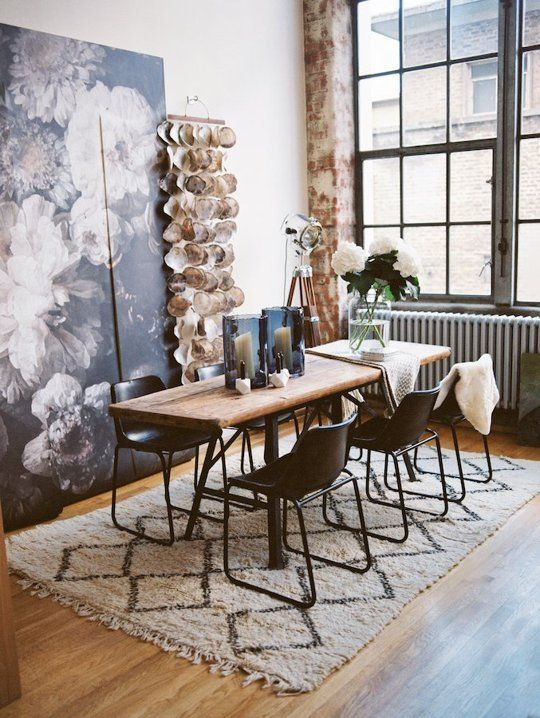 2154 best images about dining spaces on pinterest black for Funky house london