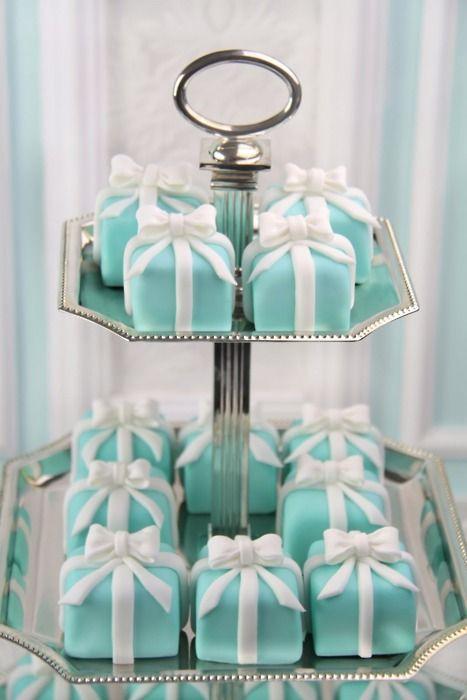 tiffany box cakes