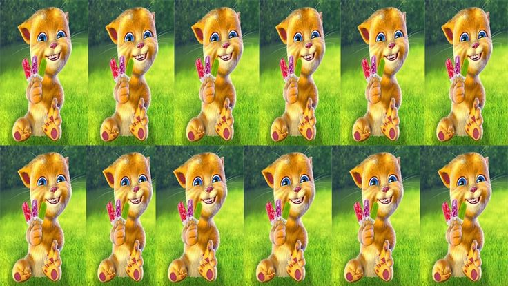 Aprende Los Colores en Español y Animales de My Talking Ginger ★ Dibujos...