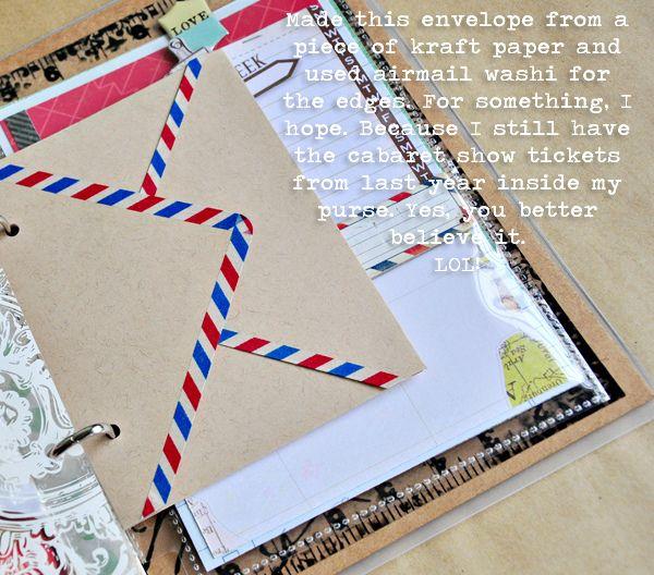 by ~Sasha, via Flickr: Envelope Pockets, Envelopes Pockets, Photo Shared