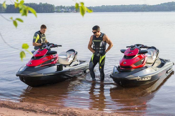 Чумовые гидроциклы Sea-Doo и великолепный отдых на воде