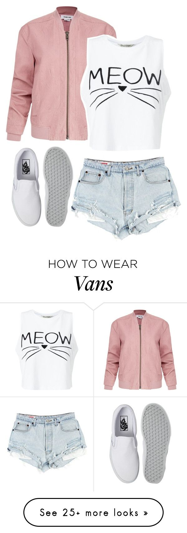 """Untitled #222"" by dianav8 on Polyvore featuring Helmut Lang, Miss Selfridge and Vans"