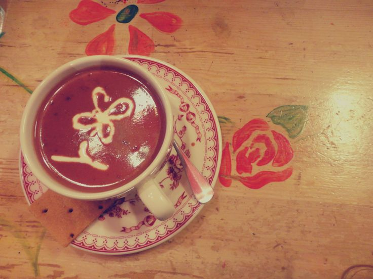 Hot chocolate <3 @ Petite Fleur,Athens