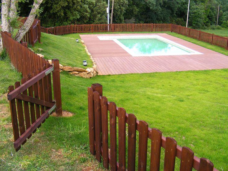 Las 25 mejores ideas sobre vallas de madera en pinterest for Decoracion vallas jardin
