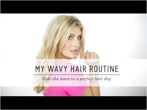My Wavy Hair Routine  Hair Tutorial  DIY Beauty  Mr Kate – YouTube #StylesForWav…