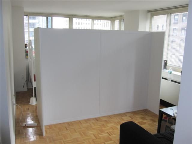 Gallery Walk Through Partition Room Divider Walls