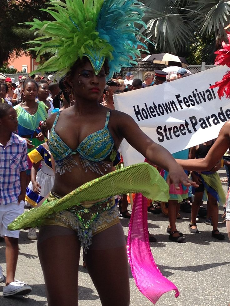 The Holetown Festival takes place in Holetown, Barbados, and celebrates the arrival of the first settlers in Holetown on February 17, 1627