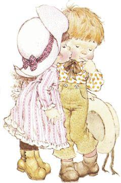 Первый детский поцелуй