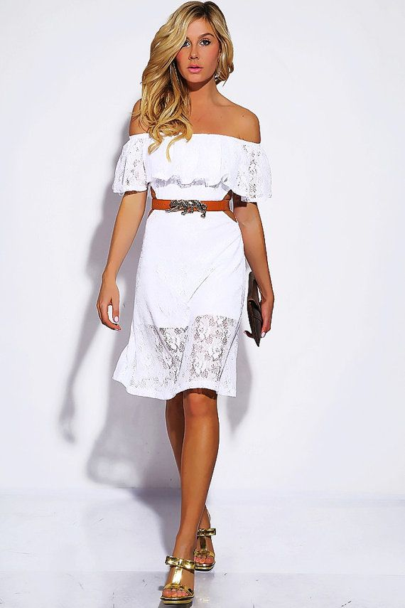 10  ideas about Lace Summer Dresses on Pinterest - White summer ...