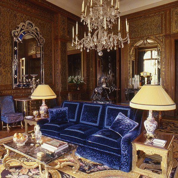Le grand style opulent du décorateur Alberto Pinto pour un somptueux hôtel particulier parisien