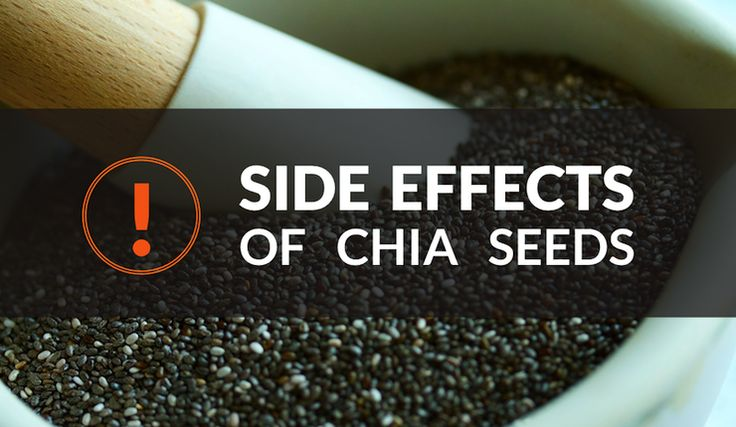 Are there any negative side effects of chia seeds? How serious are they and is there a way around it? We explore the main side effects in this article.