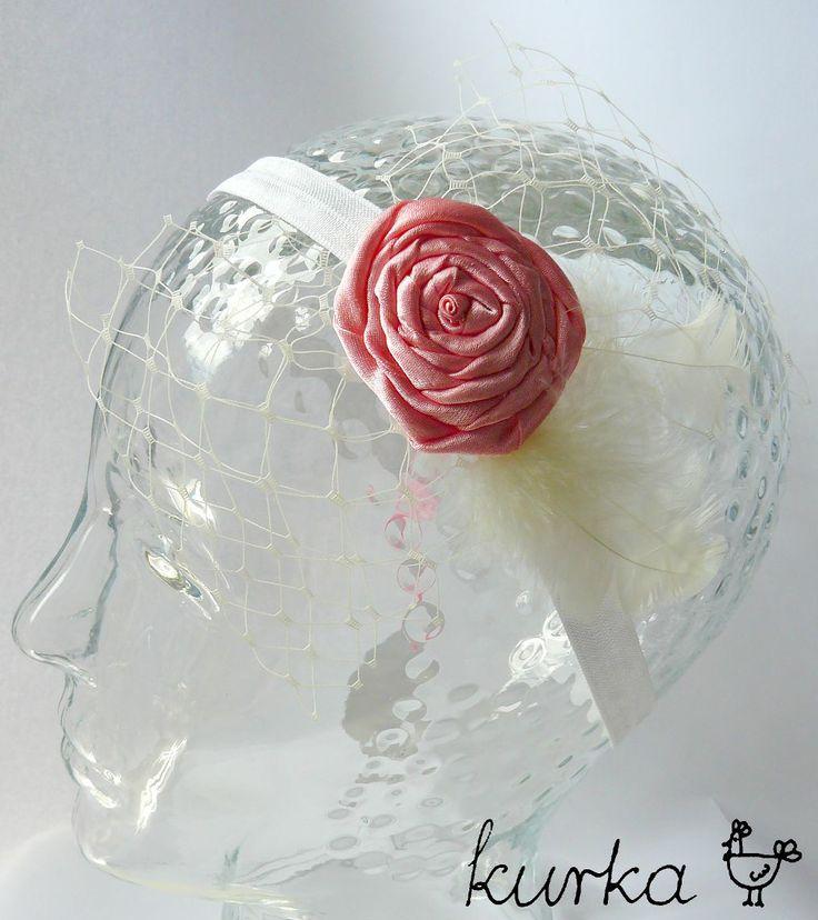 opaska ślubna handmade by kurka
