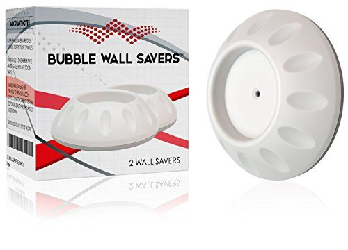 2 Wall Savers for Baby Gate • Pressure Gates • Stair gate • Shower Curtain Rods • Prevent the Damage of your Walls and Stairs • No Screws or Tools Required for the Installation • White Color