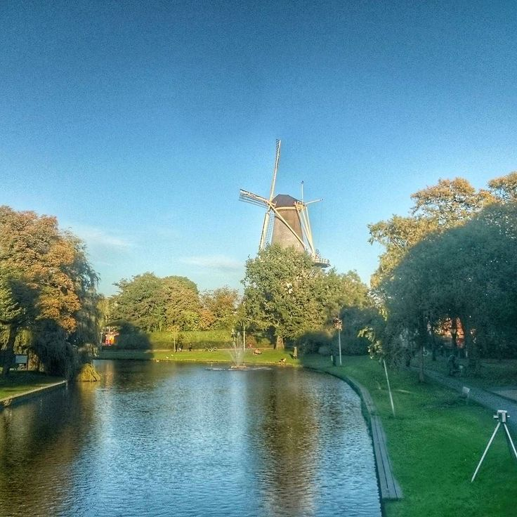 Beautiful Leiden :D #Netherlands #Niederlande #Dutch #windmill