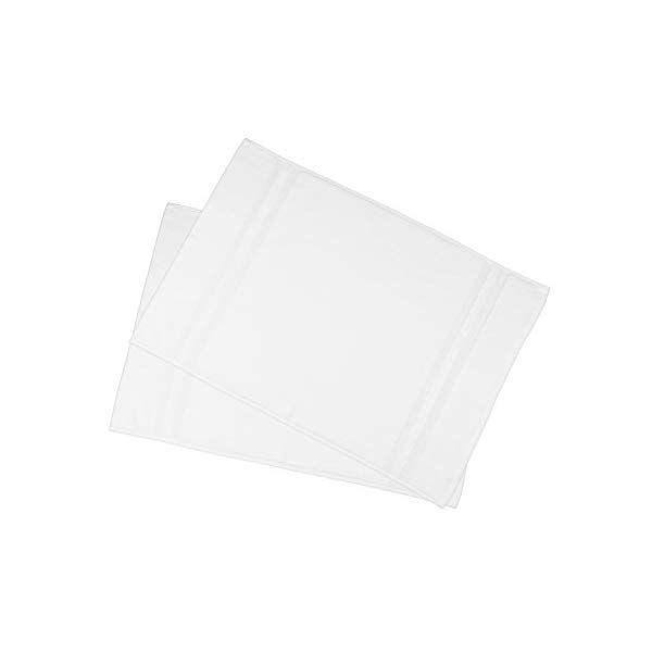 ZOLLNER® 2 tappetini da Bagno/Tappeto Doccia/scendibagno