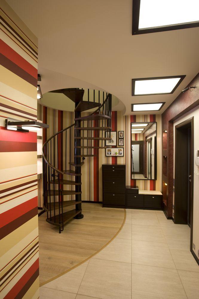 #дизайн #интерьер #коридор #лестница