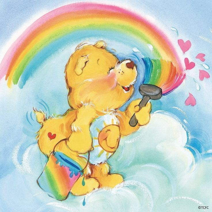 Paintin' a picture - Care bears
