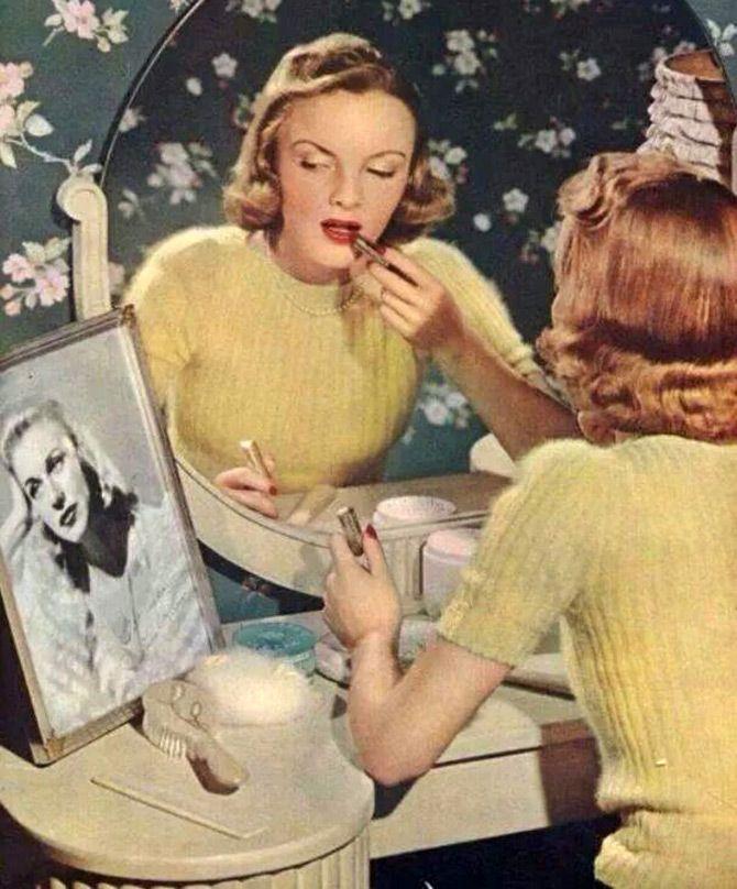 Прически 1940-х годов – история и фото