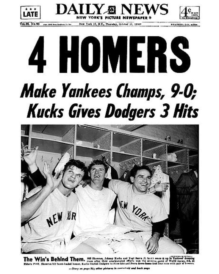 245 best Yankees World Series images on Pinterest