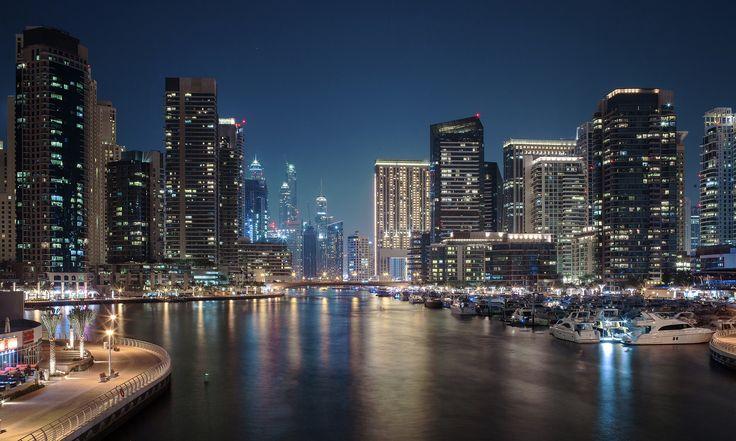 Dubai Marina Harbor | by BobVerwiel