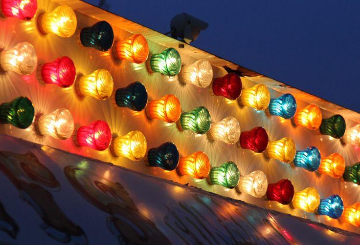 carnival lights.